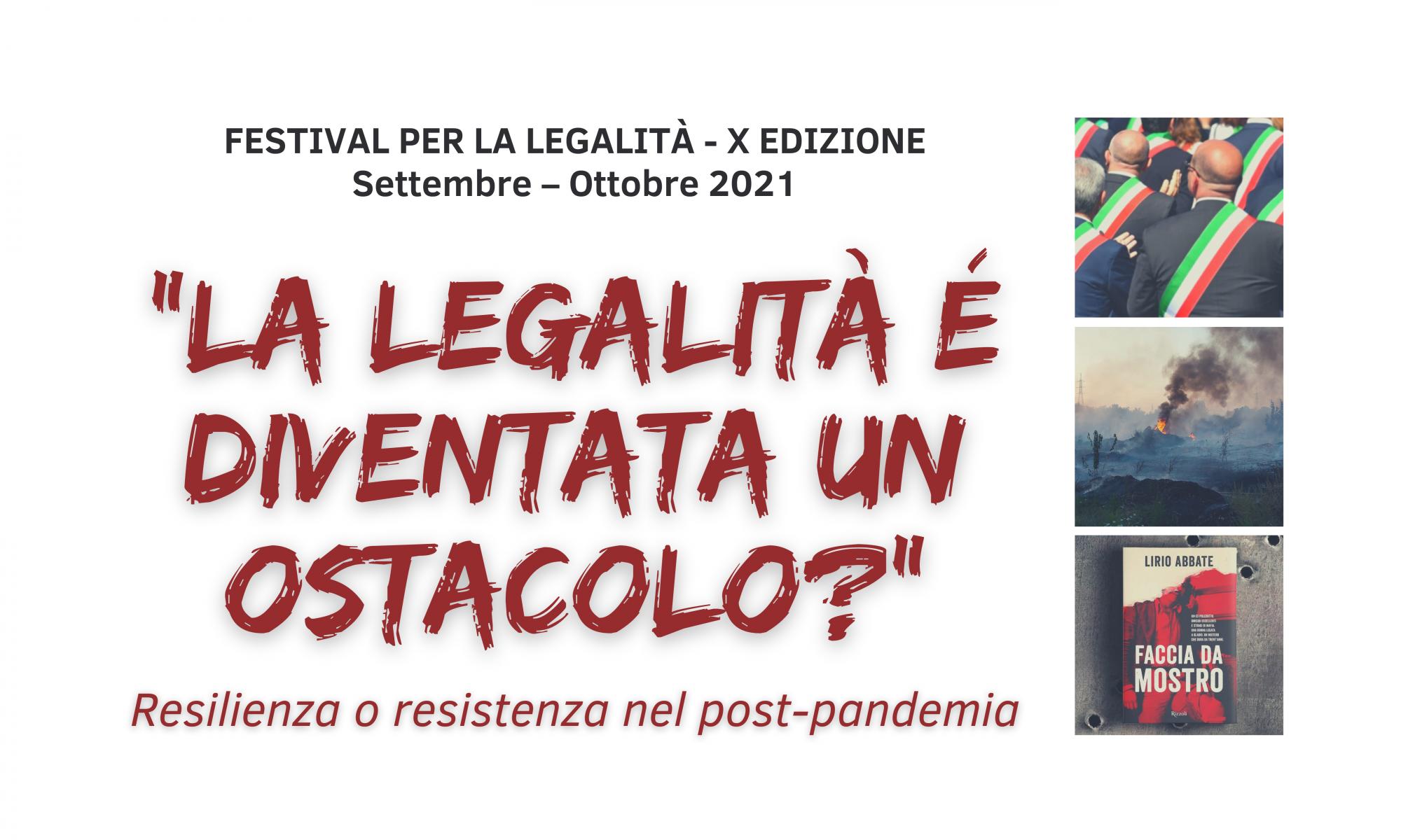 x edizione festival per la legalità